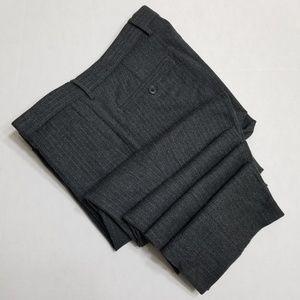 Banana Republic skinny fit wool blend gray